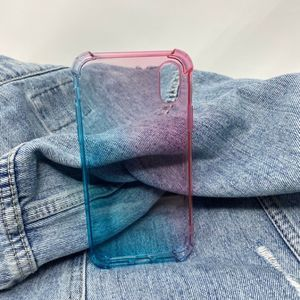 iPhone X/XS Case Pink Blue Ombre